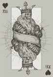 Skelett- konung stock illustrationer