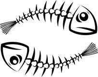 Fischschattenbild Lizenzfreie Stockbilder