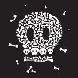 Skelett und Knochen Stockfotos