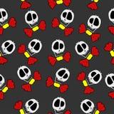 skelette Stockbild