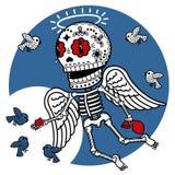 Skeletten Angelic Grace Royalty-vrije Stock Afbeeldingen