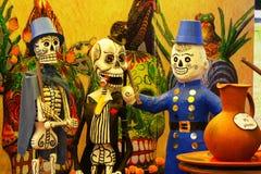 Skeletten I Stock Foto's