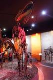 Skeletten van dinosaurussen Stock Foto