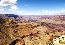 Skelettet från den storslagna siktspunkten - Grand Canyon, södra kant, Arizona, AZ Arkivbild