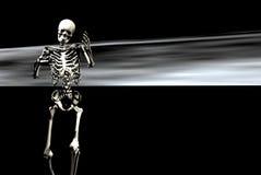 Skeliton dos Undead ilustração stock