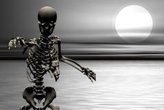 Skeliton dos Undead ilustração royalty free