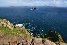 Skellig Islands Stock Image