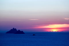 The Skellig islands Stock Photography