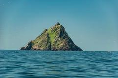 Skellig Michael, sitio del patrimonio mundial de la UNESCO, Kerry, Irlanda Star Wars la fuerza despierta escena filmada en esta i Fotografía de archivo