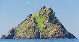 Skellig Michael, UNESCO światowego dziedzictwa miejsce, Kerry, Irlandia Whe fotografia royalty free