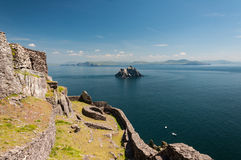 Free Skellig Michael, UNESCO World Heritage Site, Kerry, Ireland. Star Wars The Force Awakens Scene Filmed On This Island. Royalty Free Stock Photos - 65430408