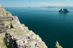 Free Skellig Michael, UNESCO World Heritage Site, Kerry, Ireland. Star Wars The Force Awakens Scene Filmed On This Island. Royalty Free Stock Photos - 65430418