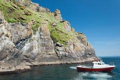 Skellig Michael, UNESCO World Heritage Site, Kerry, Ireland. Whe Stock Image