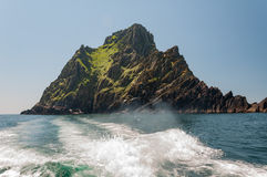 Skellig Michael, UNESCO World Heritage Site, Kerry, Ireland. Whe Stock Photography