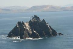 Skellig Rock in Ireland. Little  Skellig Rock in Ireland off the Kerry Coast Royalty Free Stock Image