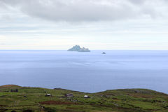 Skellig rock view Royalty Free Stock Photo