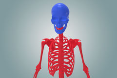 Skeltan människa Arkivfoton