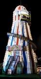 Skelter del helter del paseo del Funfair Imágenes de archivo libres de regalías