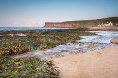 Skelton Beck and Saltburn Scar Royalty Free Stock Images