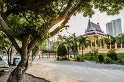 Sken och paviljong Royaltyfri Foto