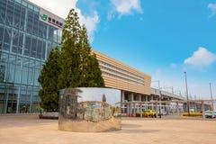 Skenben-Aomori station i Aomori, Japan arkivbild