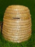 Skep de la abeja para la producción de la miel Fotografía de archivo libre de regalías