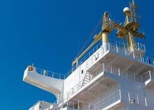 Skeppöverbyggnadfragment Royaltyfri Foto