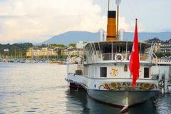 Skepp för ångamotor Royaltyfri Bild