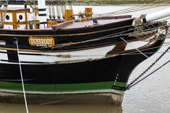 Skepp för Dunbrody kopiasvält i nya Ross arkivfoton