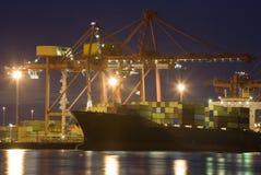 Skepp för Fremantle hamnbehållare Arkivfoton
