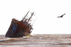 Skepp-haveri Arkivbilder