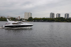 Skepp i Moskva Royaltyfri Bild