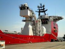 Skepp i port Arkivbilder