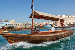 Skepp i Port Said i Dubai, UAE Arkivbilder