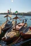 Skepp i Port Said i Dubai, UAE Arkivfoton