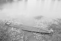 Skepp i vatten Fotografering för Bildbyråer