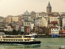 Skepp Istanbul Arkivbild