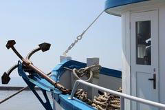 Skepp och ankare Royaltyfri Fotografi