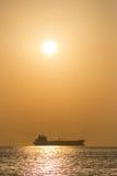 Skepp och sol Royaltyfria Foton