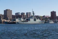 Skepp på Halifax strand Royaltyfri Fotografi