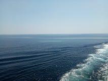 Skepp på segling royaltyfria foton