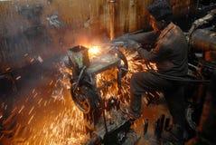 Skepp som bryter i Bangladesh Royaltyfria Bilder