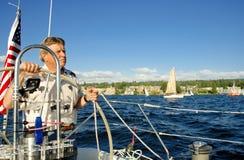 skepparehjul Fotografering för Bildbyråer