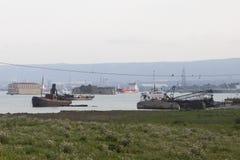 Skeppavbrott Arkivfoto