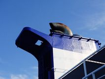 Skeppavgasrörlampglas Arkivbilder