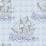 Skeppbakgrund Royaltyfri Bild
