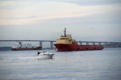 Skeppbogserbåt Royaltyfria Foton
