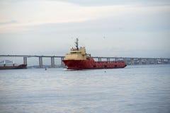 Skeppbogserbåt Royaltyfria Bilder