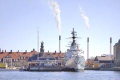 Skeppet är ett museum Royaltyfri Foto