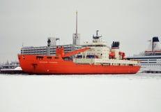 Skeppet Akademik Tryoshnikov Royaltyfri Foto